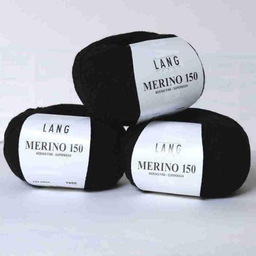 Schwarz Merino 150