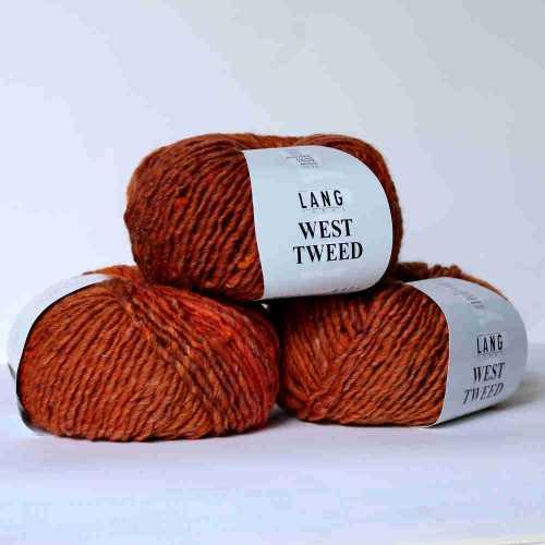 Orange West Tweed