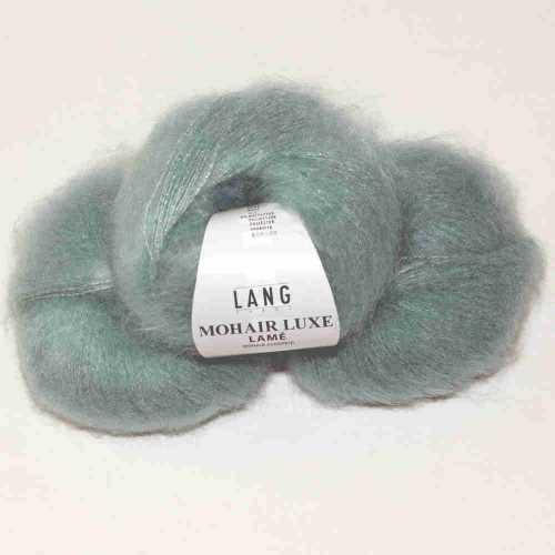 Mohair Luxe Lamé Mint