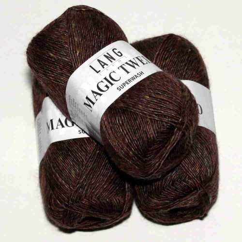 Magic Tweed Dunkelbraun