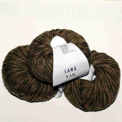 Yak-Wolle Camel mouline