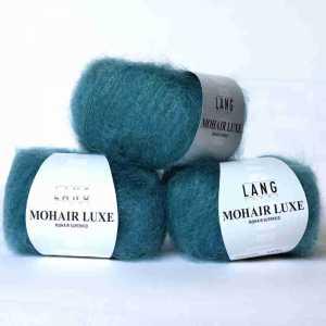 Mohair Luxe Petol