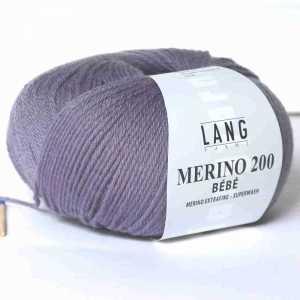 Lila Merino 200 Bebe