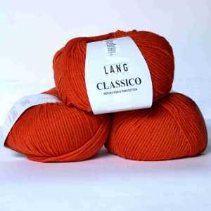 Orange gedeckt Classico