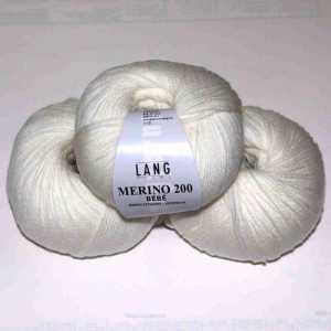 Weiß Merino 200 Bebe