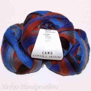 Jawoll Magic Dégradé Hellblau-Orange-Blau