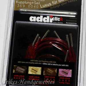 addiClick 5 Lace Seile und Kupplung