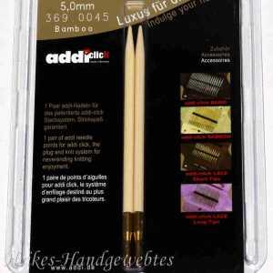 addiClick Bamboo - Ersatzspitzen 5