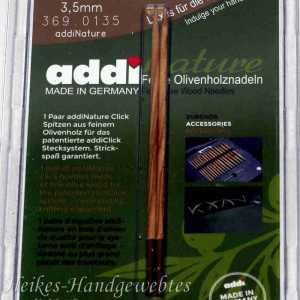 addiClick Nature - Ersatzspitzen 3,5 Olivenholz