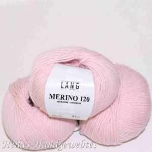 Rosa hell Merino 120