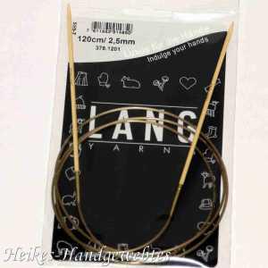 Bambus-Stricknadeln Nr. 2,5 mit 120cm Seil