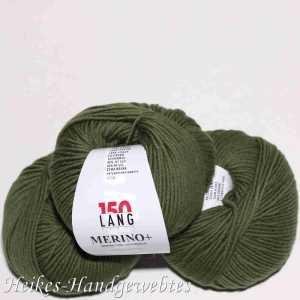 Merino+ Olive Mittel