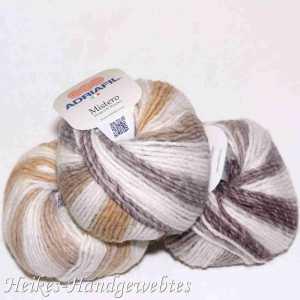Mistero Stripes & Stitches White/Beige stripes