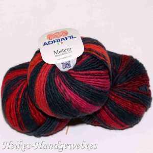 Mistero Stripes & Stitches Red-Orange-Fuchsia stripes