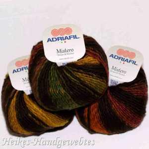 Mistero Stripes & Stitches Orange-Yellow-Green stripes