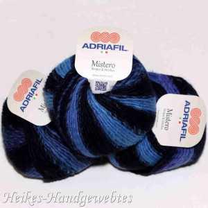 Mistero Stripes & Stitches Blue-Turquoise-Violet stripes