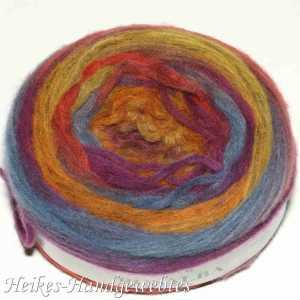 Rosalba Orange-Violett-Jeans-Melone