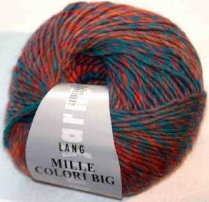 Mille Colori Big - Blau-Orange