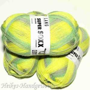 Super Soxx Color 4-fach Limone