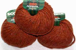 Scozia Dunkelrot-Orange
