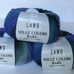 Mille Colori Baby Blau-Lila