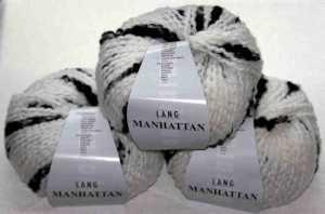 Manhattan weiß-schwarz