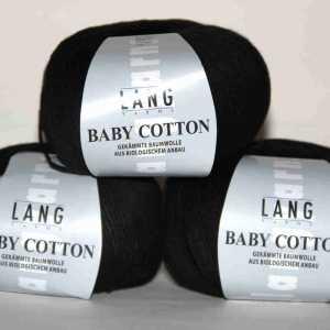 Baby Cotton schwarz