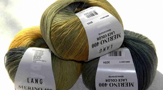 Küken heißt die Merino 400 Lace Color von Lang Yarns mit der Farb-Nr. 11 bei mir