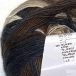 Jawoll Magic Degrade Weiß-Braun-Blau