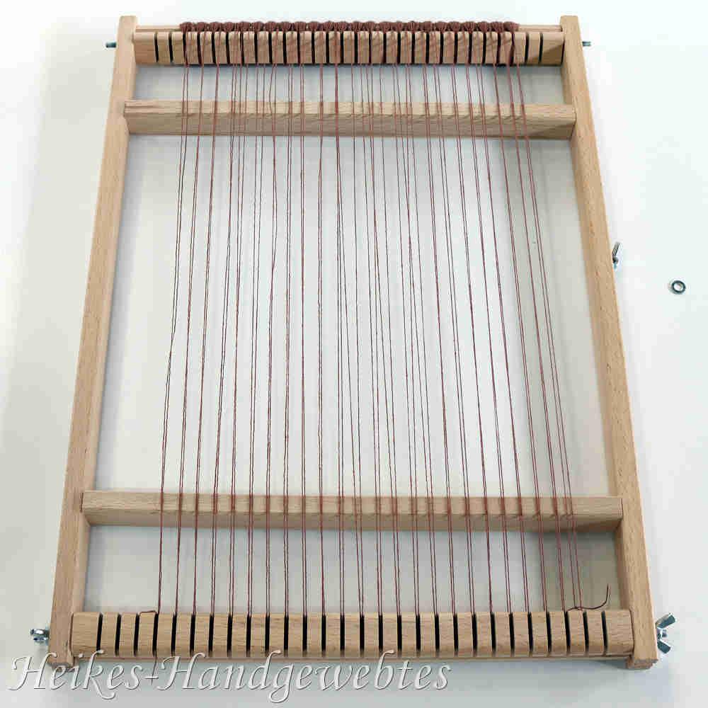 Favorit Webrahmen bespannen | Heikes-Handgewebtes – Wolle in Raunheim AG05