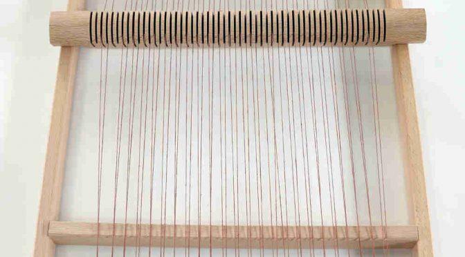 Relativ Webrahmen bespannen | Heikes-Handgewebtes – Wolle in Raunheim DT37