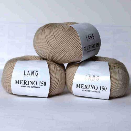 Beige Merino 150