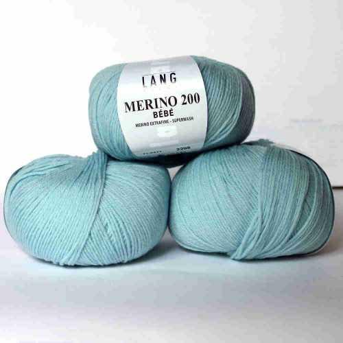 Bleu Merino 200 Bebe