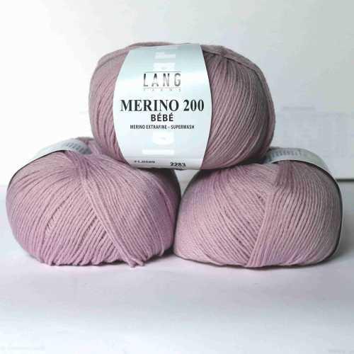Pastell-Rosé Merino 200 Bebe