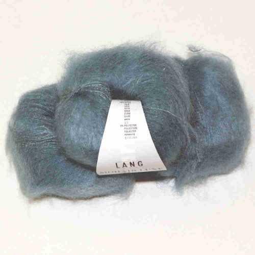 Mohair Luxe Lamé Aquamarine