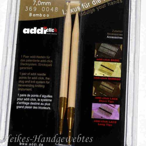 addiClick Bamboo - Ersatzspitzen 7