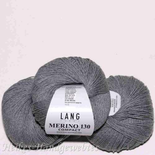 Merino 130 compact Hellgrau melange