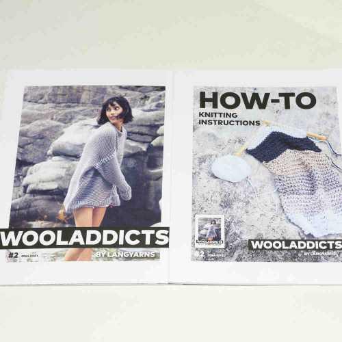 #2 WOOLADDICTS by Lang Yarns