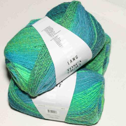 Grün-Blau Tosca Light