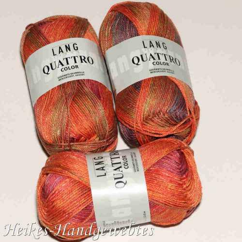 Quattro Color Lachs-Rosa-Grün