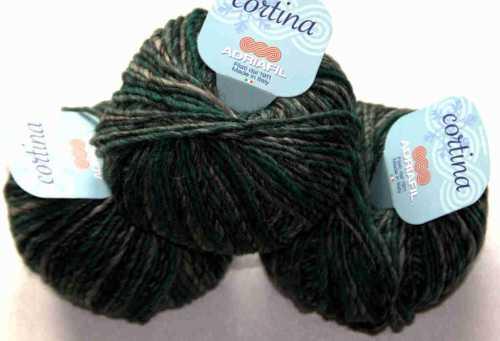 Cortina Grau-Grün