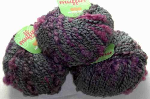 Muffin Grau-Rosa-Lila