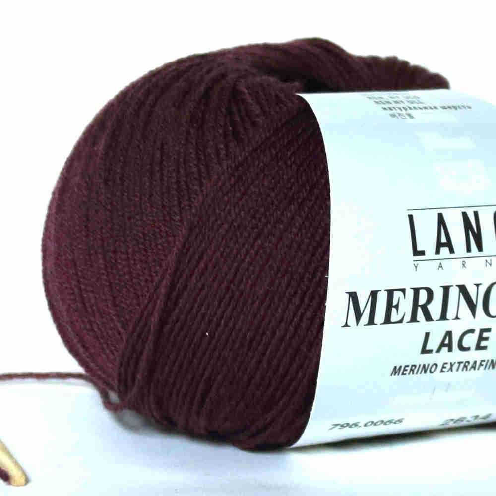 Merino 400 lace aubergine von lang yarns for 1083 3