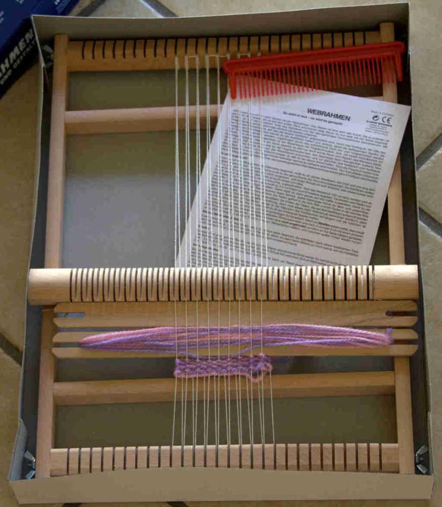 Berühmt Schul-Webrahmen 30 cm vom Allgäuer Webrahmen BK03