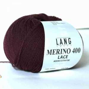 Merino 400 Lace Aubergine