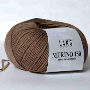 Dunkelbeige Merino 150