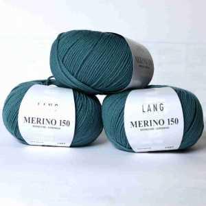 Petrol-Grün Merino 150