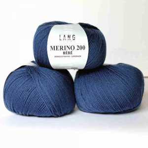 Jeans dunkel Merino 200 Bebe