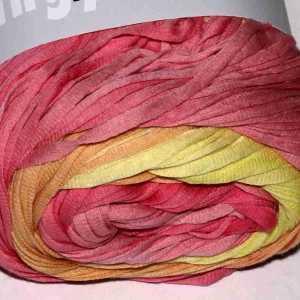 Sol Dégradé Rosa-Orange-Gelb