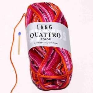 Quattro Color Pink-Orange-Rot